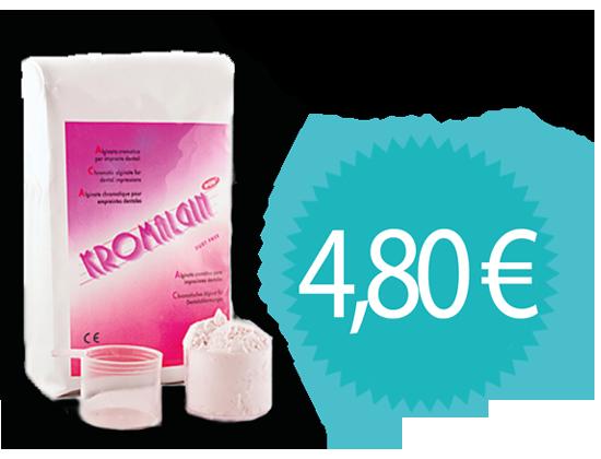 Producto Clínica Alginato Kromalgin